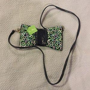 NWT Vera Bradley frill crossbody or clutch purse